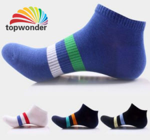 Custom Cotton Ankle Sock in Various Colors and Designs pictures & photos