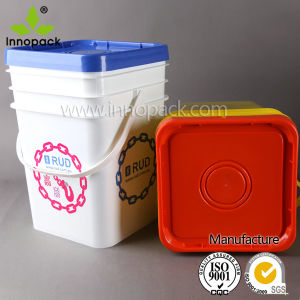Custom Plastic Bucket for Packing and Storage pictures & photos