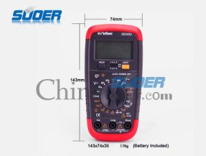 Suoer High Quality Digital Avo Meter Multimeters (SD_33D) pictures & photos