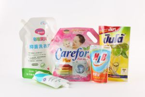 Plastic Nylon Laundry Detergent Stand up Spout Bag pictures & photos