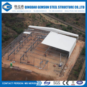 Custom-Made Steel Structure Building for Workshop Factory pictures & photos
