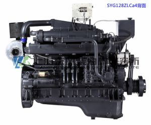 Marine Diesel Engine, G128, 180kw/1500rpm, 4-Stroke, Water-Cooled, Direct Injection, Inline, Shanghai Dongfeng Diesel Engine for Generator Set, Chinese Engine pictures & photos