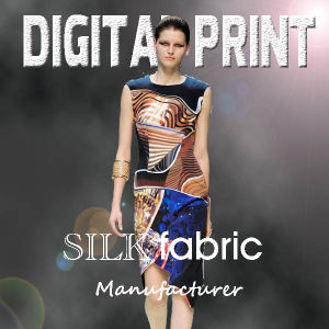 100% Silk Print Textile Service (YC168) pictures & photos
