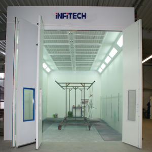 Industry Paint Booth with Hot Water Heating pictures & photos