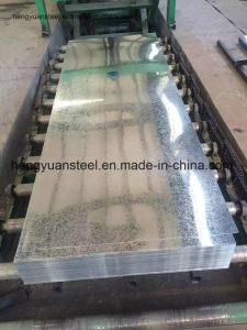 High Quality Galvanized Steel Sheet with Full Hard Materials pictures & photos