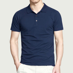 High Quality Choose Color Custom Logo Blank Cotton Polo Shirt pictures & photos