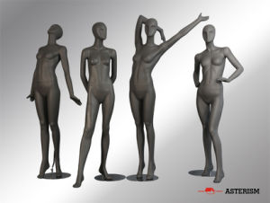 Abstract Female Mannequin (B-077)