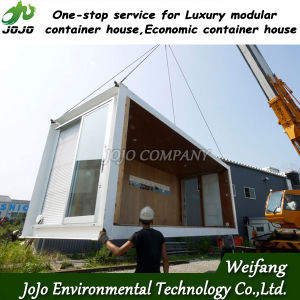 Cheap Prefab House for Sale (Can be combined with other modular house, so can get large space) pictures & photos