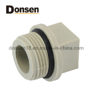 PPR Fittings of Pipe Plug pictures & photos