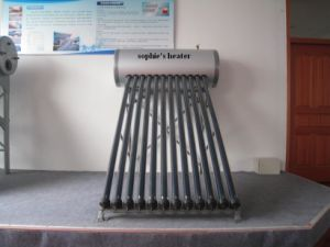 304/316 High Pressure Galvanized Steel Solar Water Heater pictures & photos