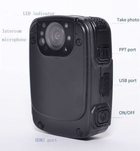 HD Police Portable DVR Camera Law Enforcement Recorder Camera with TF Card Built in pictures & photos