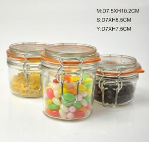 Clip Top Airtight Glass Jar, 125ml, 200ml, 300ml pictures & photos