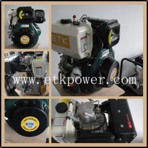 14HP White Tank Diesel Engine Set pictures & photos