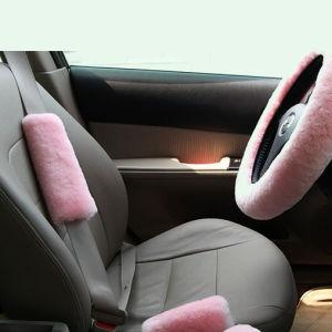 Australian Sheepskin Car Safety Belt Pad Shoulder Cover pictures & photos