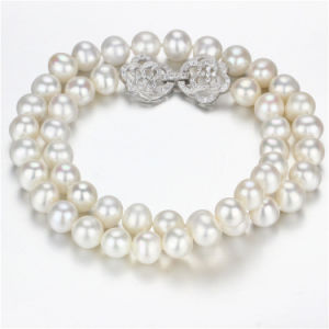 Snh 925silver 18inches Freshwater Pearl Necklace Wholesale
