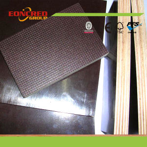 Anti-Slip Film Faced Plywood for Shuttering/ Wiremesh Shuttering Plywood pictures & photos