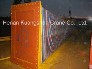 75ton Rail Mounted Subway Turn Slag Double Girder Gantry Crane pictures & photos