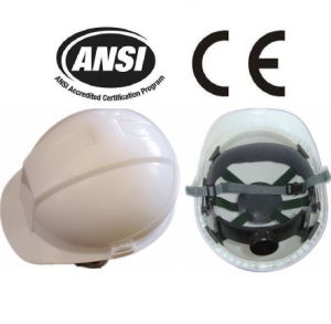 White PE Head Protection Safety Working Helmets (JMC-323P) pictures & photos