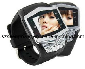 GSM Watch Mobile Phone Ultra Thin Quad-Band pictures & photos