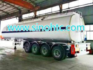 4 axles tank semi trailer, 4 axle slurry tank trailer pictures & photos