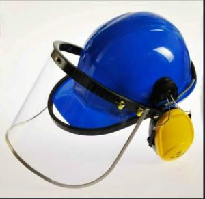 Safety Helmet Visor Ear Muff Warehouse Plastic Trailer Caravan Offroad Camper pictures & photos
