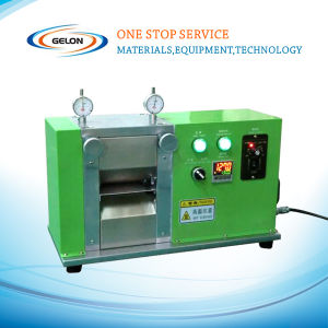 """Electric Precision 4""""/100mm Width Battery Electrode Rolling Press with Dual Micrometers - Mr100A pictures & photos"""