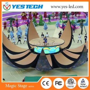 Low Power Consumption P5 P6 SMD LED Sports Video Display pictures & photos