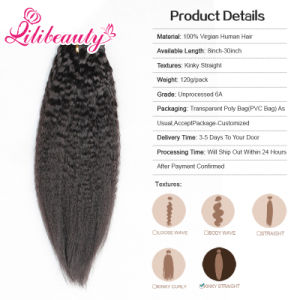 Wholesale Indian Remy Human Hair Clip in Hair Extension Qingdao pictures & photos