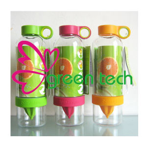 Portable Plastic Cup Lemon Juice Fruit Bottle Simple Juicer