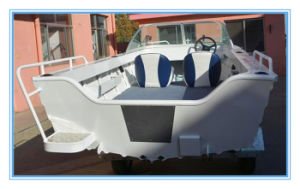4.2m Hot Sale Aluminum Runabout Fishing Boat with Ce pictures & photos