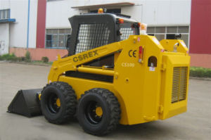 CE Skid Steer Wheel Loader with Snow Bucket pictures & photos