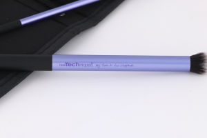 2016 Christmas Hot Sale Newest Professional Real Starter 5PCS/Set Purple Eye Brush Long Lasting Toothbrush Cosmetics Makeup Brush Iron Package pictures & photos