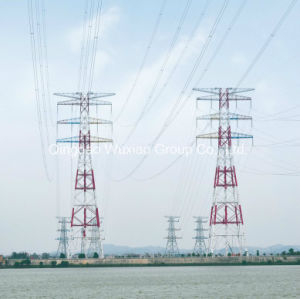 Low Voltage Uhv Ehv Power Transmission Combined Large Span Iron Tower pictures & photos