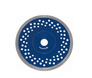 Turbo Segment Diamond Saw Blade with Flange&Silent Holes (JL-TDBFS) pictures & photos