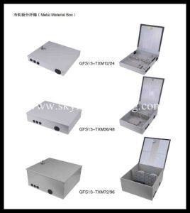 24 Cores Cold Rolled Steel FTTH Terminal Box- FTTX Box pictures & photos