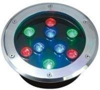 12/24V 12*1W Underground RGB LED Light pictures & photos