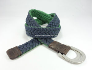 Newly-Designed Fashion Woven Canvas Belt (EUBL0700-35) pictures & photos