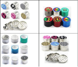 Wholesale Custom Metal Herb Grinder for Tobacco pictures & photos