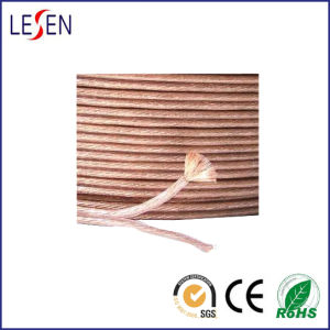 Speaker Cables, Made of Transparent PVC/for Audio Device/Speaker/Electrical Equipment pictures & photos