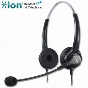Lightweight Binaural Call Center Headset (For600D)