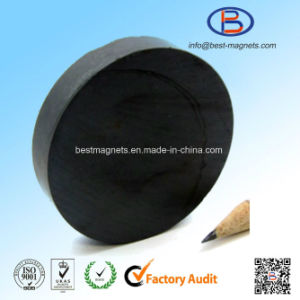 D50X10 Y30bh High Quality Disc Shape Anisotropic Ferrite Magnets pictures & photos