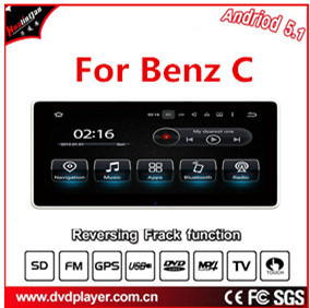 "Carplay Android 7.1 for 10.25""Benz C GPS Navigation Android Car Stereo pictures & photos"