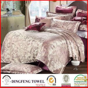 Fashion Poly-Cotton Jacquard Bedding Set Df-C143 pictures & photos