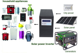 1000watt LCD Light Home Use Solar Hybrid Inverter