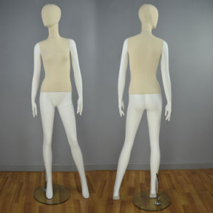 Fabric Wrapped Full Body Female Mannequin for Window Display pictures & photos