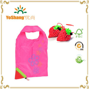 Strawberry Folding Bag for Shopping pictures & photos