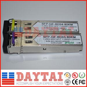Single Fiber 80km 1.25g Bidi SFP Module pictures & photos