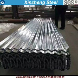 Dx51d+Z Corrugated Galvanized Steel Sheet with Full Hard pictures & photos