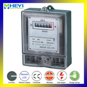 Dds 5188 Single Phase Kilo Watt Hour Meter 220V pictures & photos