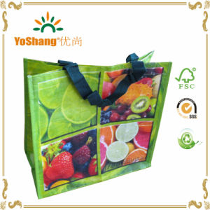 China Factory Cheap Non-Woven Recycled Shopping Bag, Recycled PP Woven Bag pictures & photos